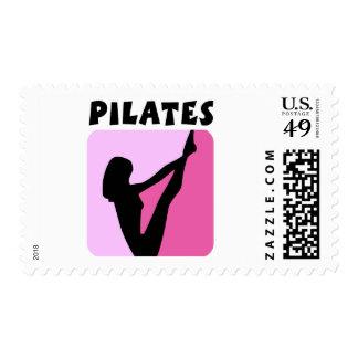 Pilates figure design! stamps