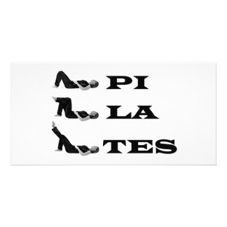 Pilates figures! photo card
