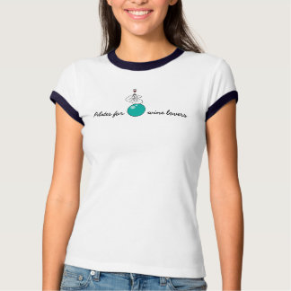 Pilates for Winelovers Ladies' T-shirt