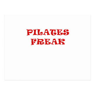 Pilates Freak Postcard