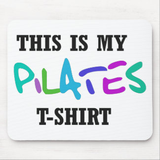 Pilates Funny Design! Mouse Pad