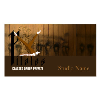 Pilates II - Business Card