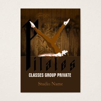 Pilates II - Business-, Schedule Card