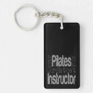 Pilates Instructor Extraordinaire Double-Sided Rectangular Acrylic Keychain