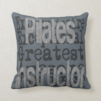 Pilates Instructor Extraordinaire Throw Pillow