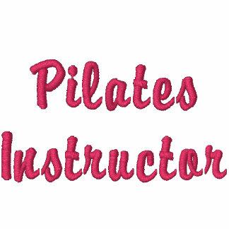 Pilates Instructor Ladies Zip Hoodie