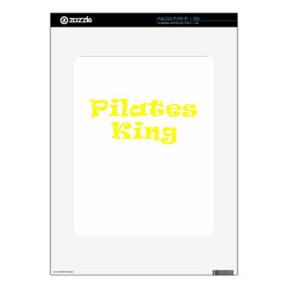 Pilates King Decals For iPad