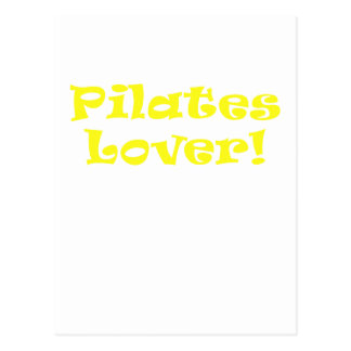Pilates Lover Postcard