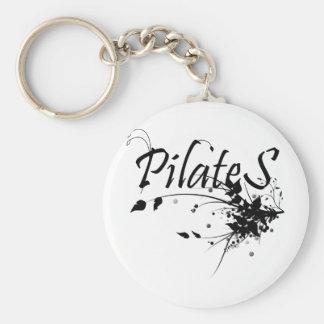 Pilates Method fan! Pilates Art Keychain