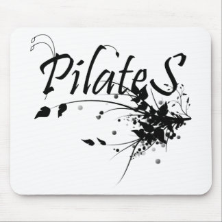 Pilates Method fan! Pilates Art Mouse Pad