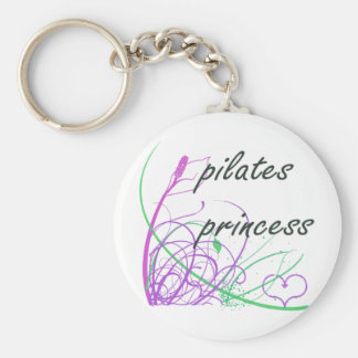 Pilates Method fan! Pilates gifts Basic Round Button Keychain