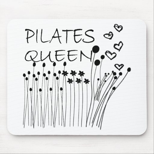 Pilates Method Queen! Mouse Pad