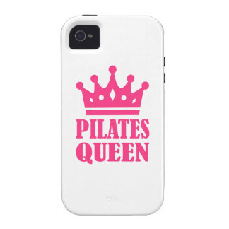 Pilates queen crown iPhone 4/4S covers