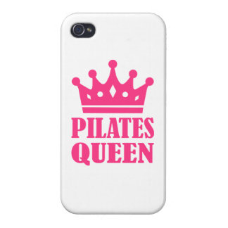 Pilates queen crown iPhone 4 cover