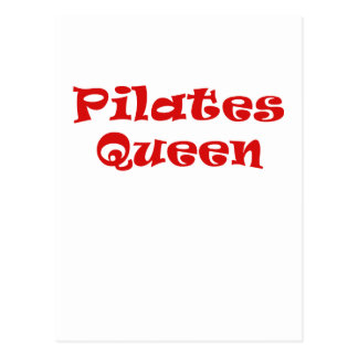 Pilates Queen Postcard