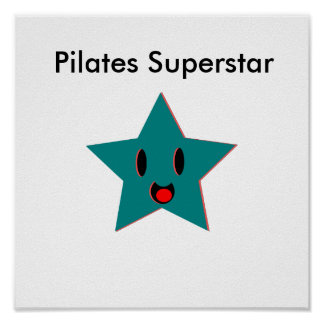 Pilates Superstar Poster