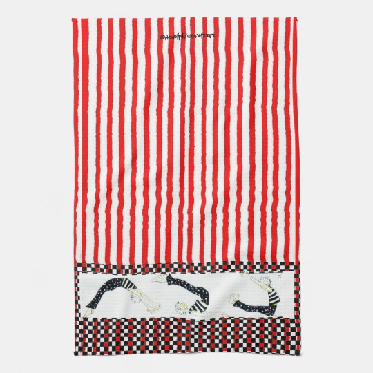 Pilates Trio Holiday Kitchen Towel