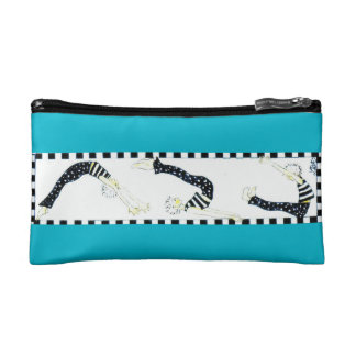Pilates Trio of Mat Exercises Makeup Bag