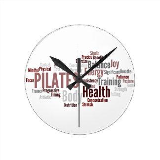 PILATES Wall Clock