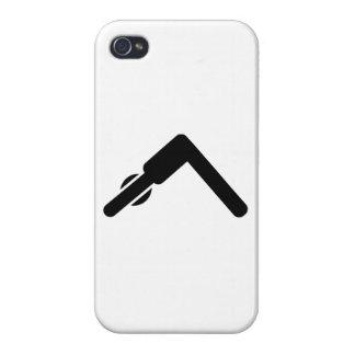 Pilates Yoga symbol iPhone 4 Case