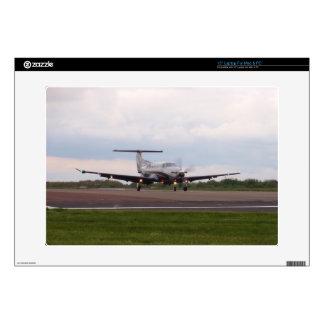 "Pilatus PC 12 Decal For 15"" Laptop"
