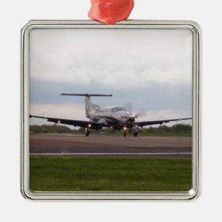 Pilatus PC 12 Metal Ornament
