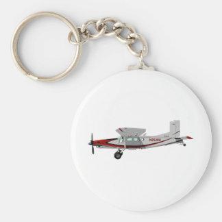 Pilatus PC-6 Turbo Porter Basic Round Button Keychain