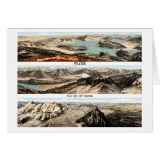 PILATUS Swiss Alps 360° Panorama Card