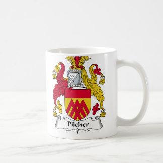 Pilcher Family Crest Classic White Coffee Mug