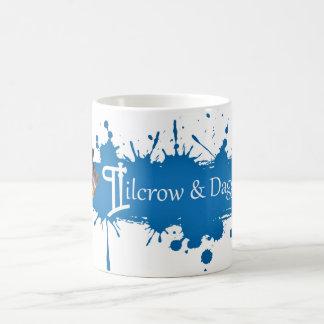 Pilcrow y taza de la daga