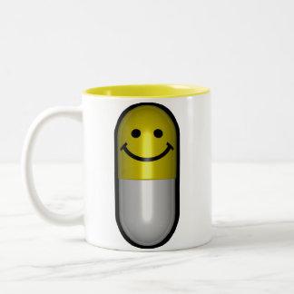 Píldora de Mr.Happy Taza Dos Tonos