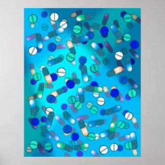 Píldoras azules póster