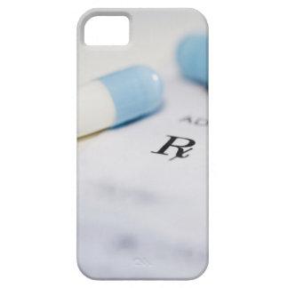 Píldoras en la prescripción escrita funda para iPhone 5 barely there