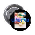 píldoras, NIÑO del CARAMELO Pin