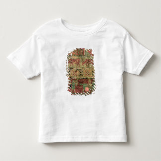 Pile carpet depicting horses and riders toddler t-shirt
