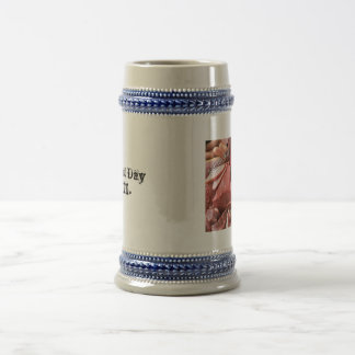 Pile 'O Meat Beer Stein