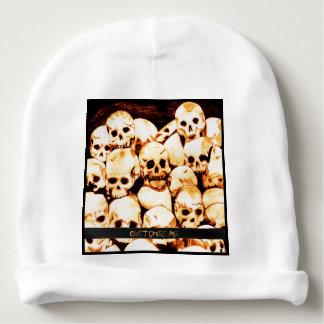Pile-O-Skulls (Aged) Baby Beanie