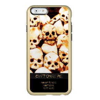 Pile-O-Skulls (Aged) Incipio Feather Shine iPhone 6 Case