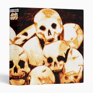 Pile-O-Skulls (aged) LG print Binder