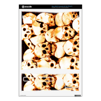 Pile-O-Skulls (aged) Xbox 360 S Decal