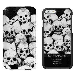 Pile-O-Skulls iPhone 6/6s Wallet Case