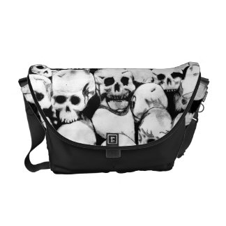 Pile-O-Skulls Messenger Bag