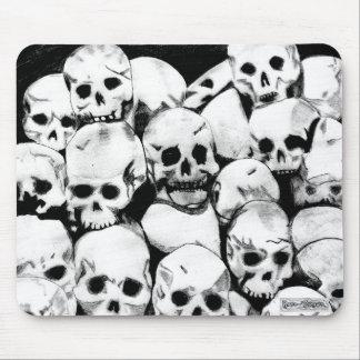 Pile-O-Skulls Mouse Pad
