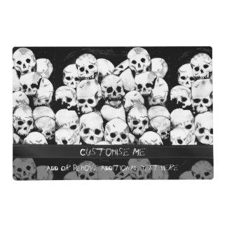 Pile-O-Skulls Placemat