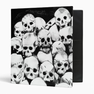Pile-O-Skulls SML Print Binder