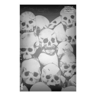 Pile-O-Skulls Personalized Stationery