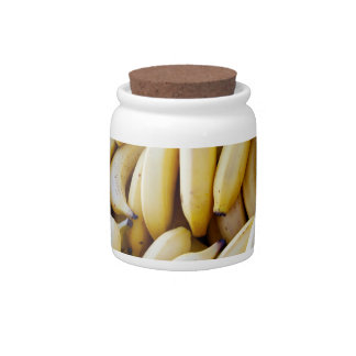 Pile of Bananas Candy Jars