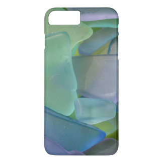 Pile of blue beach glass, Alaska iPhone 8 Plus/7 Plus Case