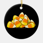 Pile of Candy Corn Halloween Template Christmas Ornaments