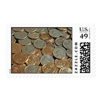Pile of Coins Stamps